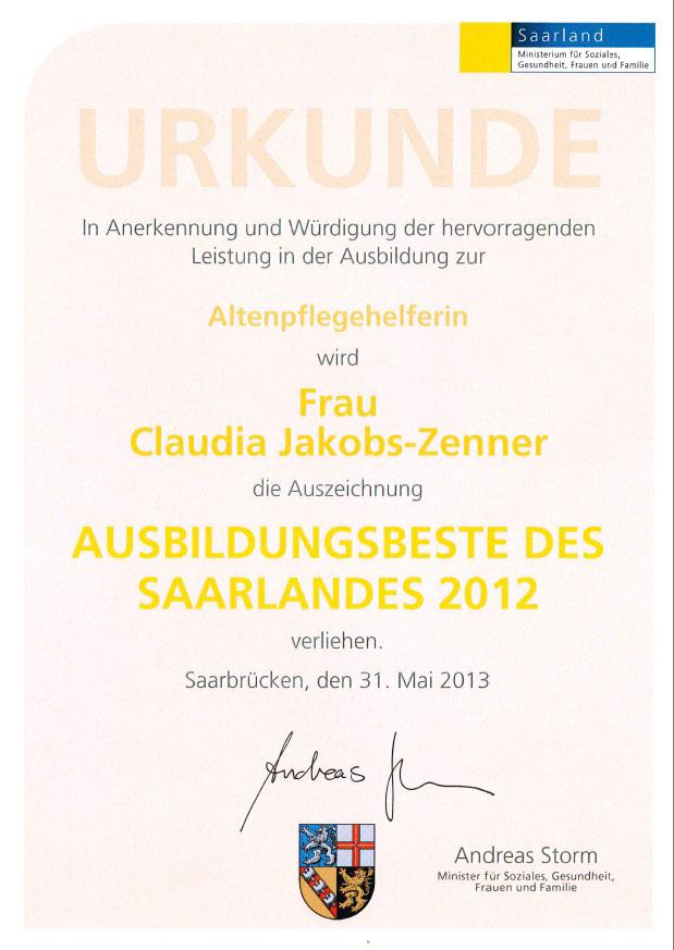 Urkunde_Jakobs-Zenner