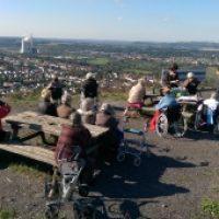 Ausflug zur Bergehalde Ensdorf 2015