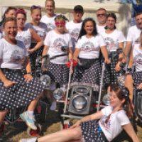 Firmenlauf 2015 – 3. Platz für die Rockin' Rollators!!!