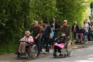 """Maiwanderung des """"Seniorenhauses St. Augustin"""" war wieder ein voller Erfolg"""