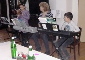 Weihnachtssingen der Kinder der Musikschule Ensdorf